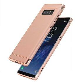 Husa 3 in 1 Luxury pentru Galaxy Note 8 Rose Gold