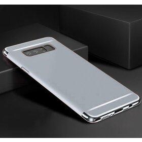 Husa 3 in 1 Luxury pentru Galaxy S10 Silver
