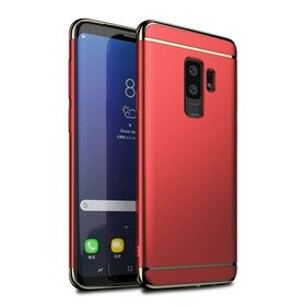 Husa 3 in 1 Luxury pentru Galaxy S9 Plus Red