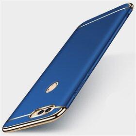 Husa 3 in 1 Luxury pentru Huawei P Smart (2018) Blue