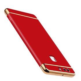 Husa 3 in 1 Luxury pentru Huawei P9 Red