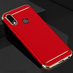 Husa 3 in 1 Luxury pentru Huawei Y9 (2019) Red