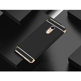 Husa 3 in 1 Luxury pentru Xiaomi Redmi Note 4 Black