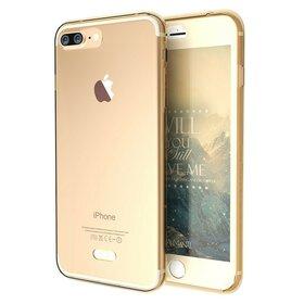 Husa 360 Full Silicon pentru iPhone 7 Plus Gold