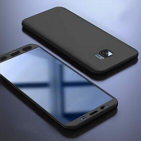 Husa 360 pentru Galaxy S6 Edge Black