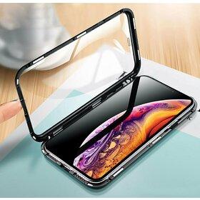 Husa 360 Magnetica cu Sticla fata + spate pentru iPhone XR