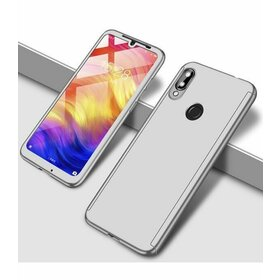 Husa 360 pentru Galaxy A40 Silver