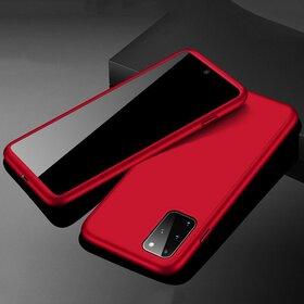 Husa 360 pentru Galaxy A51 Red