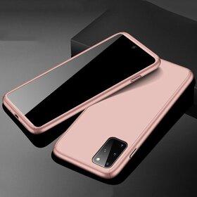Husa 360 pentru Galaxy A51 Rose Gold