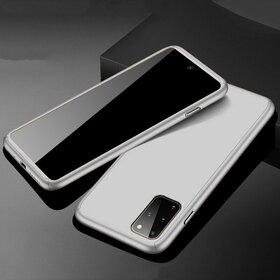 Husa 360 pentru Galaxy A51 Silver