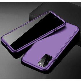 Husa 360 pentru Galaxy A71 Silver