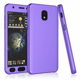 Husa 360 pentru Galaxy Grand Prime Pro (J250FD - J2 Pro 2018) Purple