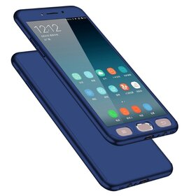 Husa 360 pentru Galaxy Note 5 Navy
