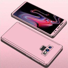 Husa 360 pentru Galaxy Note 9 Rose Gold