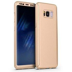 Husa 360 pentru Galaxy S8 Plus Gold