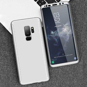 Husa 360 pentru Galaxy S9 Plus Silver