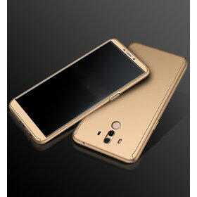 Husa 360 pentru Huawei Mate 10 Gold