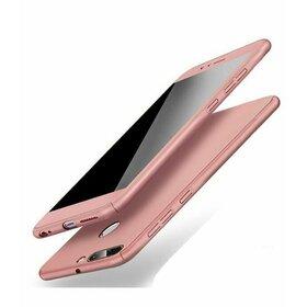 Husa 360 pentru Huawei P Smart (2019) Rose Gold