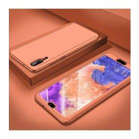 Husa 360 pentru Huawei P20  Rose Gold