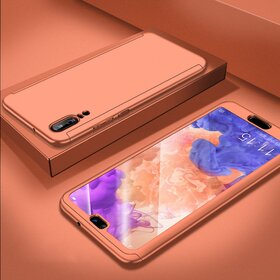 Husa 360 pentru Huawei P20 Pro Rose Gold