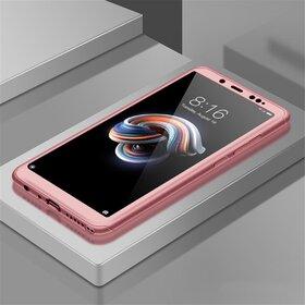 Husa 360 pentru Huawei P40 Lite Rose Gold