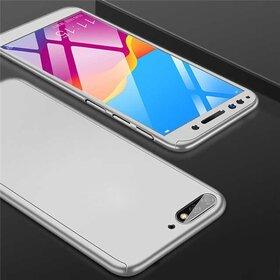 Husa 360 pentru Huawei Y5 (2018) Silver