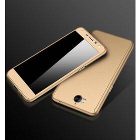 Husa 360 pentru Huawei Y6 (2017) Gold