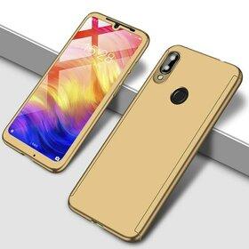 Husa 360 pentru Huawei Y7 Prime (2019)/ Huawei Y7 (2019) Gold