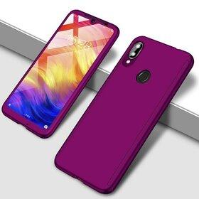 Husa 360 pentru Huawei Y7 Prime (2019)/ Huawei Y7 (2019) Purple
