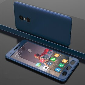 Husa 360 pentru Xiaomi Redmi Note 4 Navy