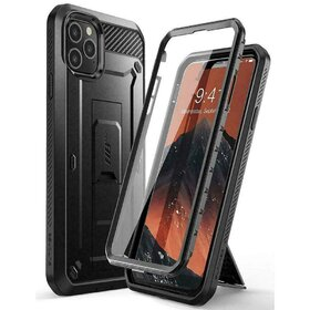 Husa 360 Supcase UNICORN BEETLE PRO cu prindere pe curea pentru iPhone 11 Pro Black