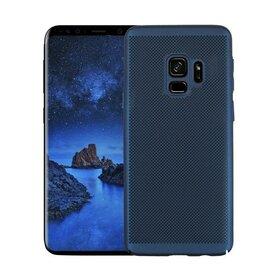Husa Air cu perforatii pentru Galaxy S9 Plus Blue