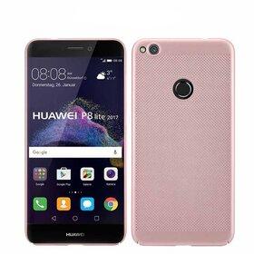 Husa Air cu perforatii pentru Huawei P8 Lite (2017) Rose Gold