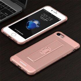 Husa Air cu perforatii si inel pentru Iphone 7 Plus Black