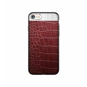 Husa Alligator pentru iPhone 7 Plus Red