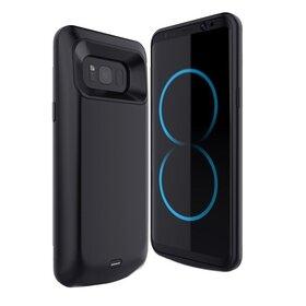 Husa cu Baterie Externa pentru Galaxy S8 Black