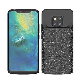 Husa cu Baterie Externa pentru Huawei Mate 20 Pro Black