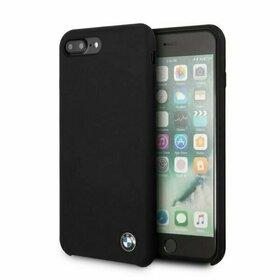 Husa BMW Neagra din silicon pentru iPhone 7 Plus / 8 Plus Black
