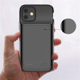 Husa cu baterie externa Slim pentru iPhone 11 Black