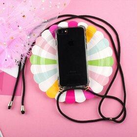 Husa cu snur - Rope Case pentru Huawei P30 Lite Transparent