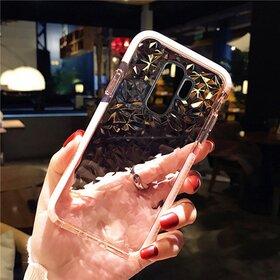 Husa Diamond Transparenta pentru Galaxy S9 LightPink