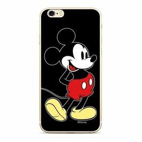 Husa din silicon Disney Original cu Mickey pentru Samsung Galaxy A20e Black