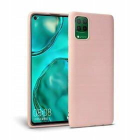Husa din silicon Tech-Protect Icon pentru Huawei P40 Lite Pink
