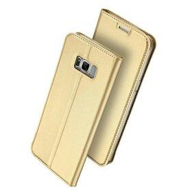 Husa Flip DUX pentru S8 Plus Gold