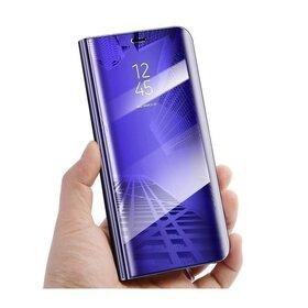 Husa Flip Mirror pentru Galaxy A51 Purple
