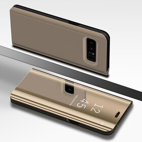 Husa Flip Mirror pentru Galaxy Note 8