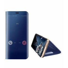 Husa Flip Mirror pentru Huawei P30 Pro Blue