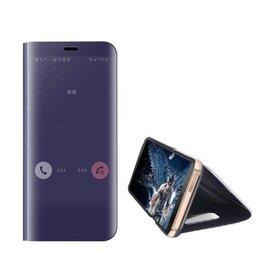 Husa Flip Mirror pentru Huawei P40 Pro Purple