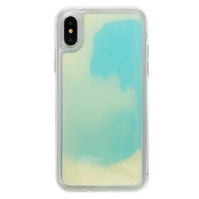 Husa Glow in the Dark pentru iPhone X/ iPhone XS Monster Green