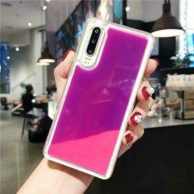 Husa Glow in the Dark pentru Samsung Galaxy A50/A30s Purple